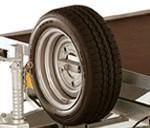 P5 spare wheel